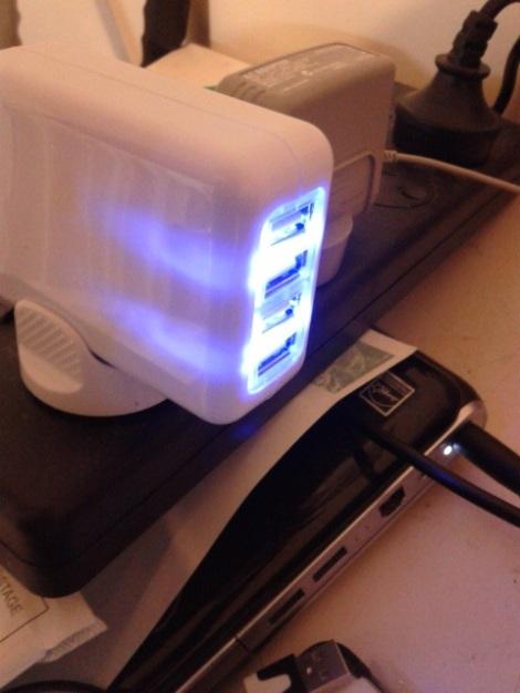 USB Quad Charger
